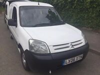 CITROEN BERLINGO LX 600 CAR DERIVED VAN 1360cc (2006).BRILLIANT DRIVE. RECENTLY SERVICED. HISTORY.