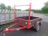 trailer 6 x 4 great conditin £250
