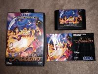 Great Condition Aladdin Sega Mega Drive