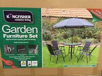 Kingfisher garden 6 pieces garden set