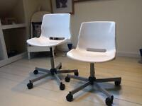 2 Ikea office chairs