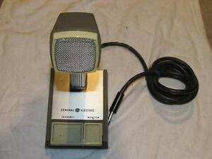 vintage shure microphone for ham radio