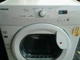 Hoover 9kg condensing tumble dryer as new
