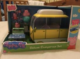 Brand new Peppa pig Campervan set