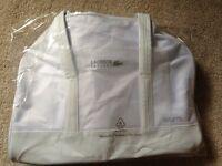 La Coste Sports Bag White Unisex