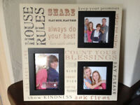 Photo Frame - Large Multi Picture Aperture Collage - Christmas/Xmas