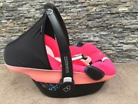Maxi Cosi Car Pebble car seat Origami Rose