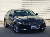 2013 63 REG JAGUAR XF 2.2d [163] SE Business 4dr Auto** LEATHER/SAT NAV** a4 tdi 320d automatic