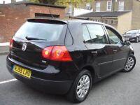 !!! VW VOLKSWAGEN GOLF 1.9 TDI SE 55 PLATE NEWER SHAPE !!! 5 DOOR HATCHBACK DIESEL BLACK !
