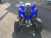 2012 12 Yamaha YZ 250 cc fully road legal quad outstanding condition