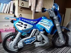 Battery powered Motorcross bike