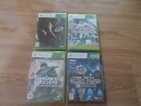 Xbox 360 games all NEW and sealed £10 for all 4