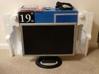 """Hanns G 19"""" Wide TFT LCD Monitor HW191, Boxed"""