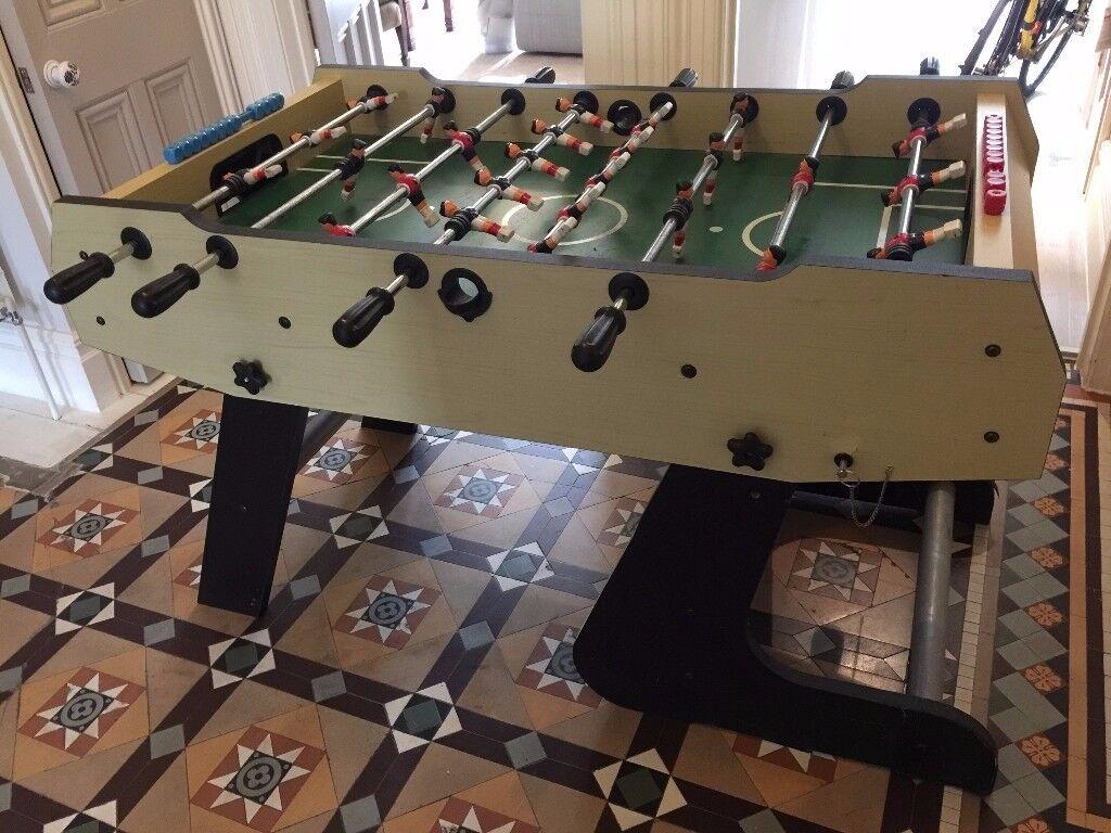 """Table Football: BCE Olympic 4'6"""" Folding Table"""