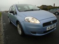FIAT GRANDE PUNTO 1.2 56 reg - Only 69k - Great condition - Blue