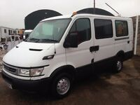 2005 Iveco Daily 29L12 SWB Licensed to Carry 8 Passengers