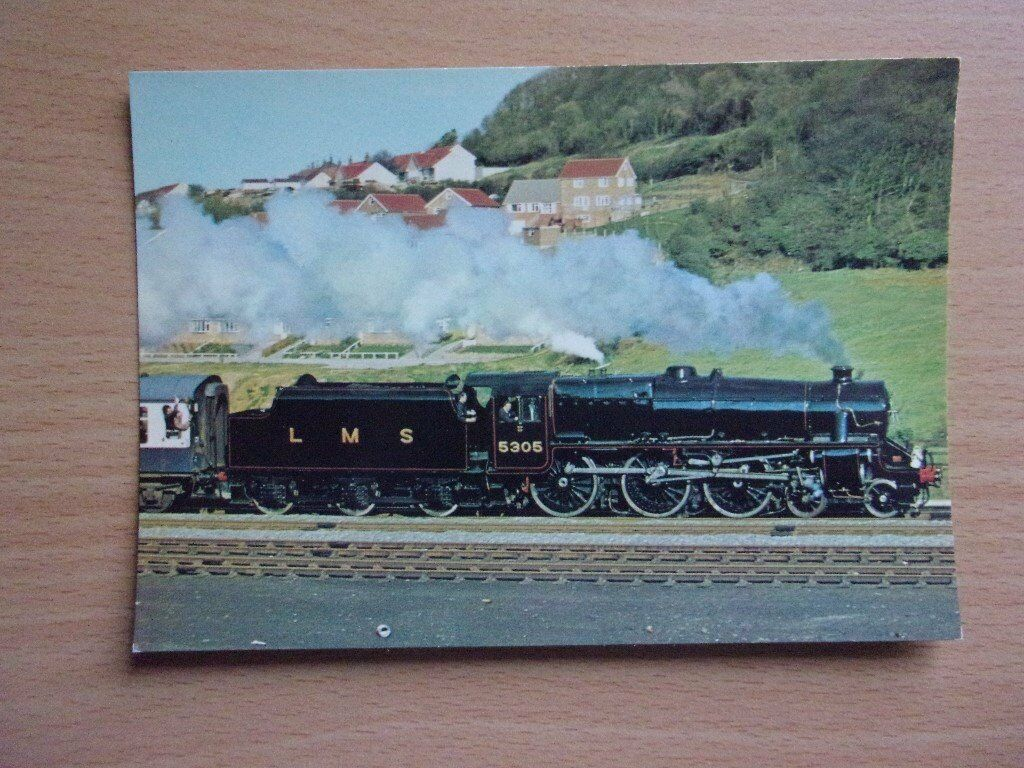 SIR WILLIAM STANIERS MIXED TRAFFIC CLASS 5 4-6-0 NO. 5305. VERY GOOD CONDITION POSTCARD.