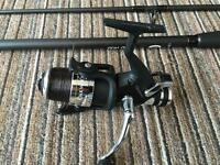 Spod rod +Oakwood RS500C reel