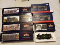 Collection of Bachmann locomotive and carriages