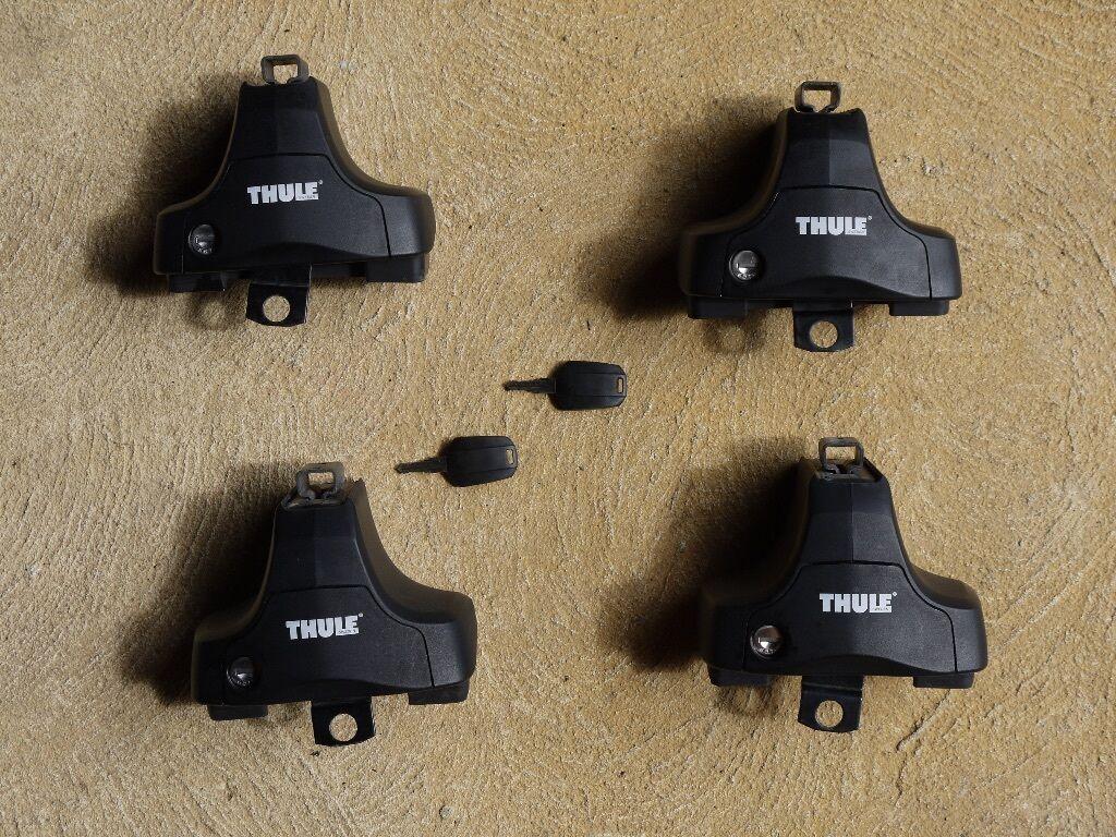 Thule Roof Rack Foot Pack 754 Amp Fitting Kit 1051 Vw Golf