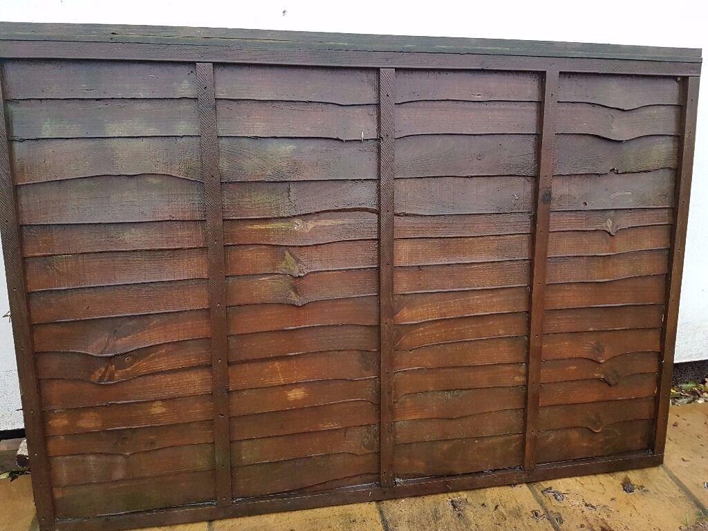 4 x Fence Panels