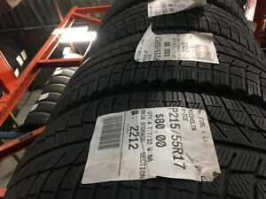 215/55/17 Michelin X-Ice *Winter Tires*