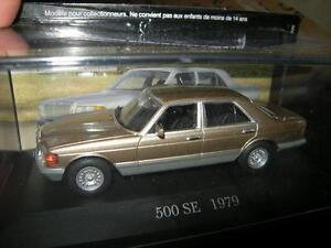 1:43 Ixo Mercedes-Benz 280/350/500 SE W126 gold/golden 1979-1984 in VP