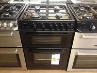 Black gas cooker