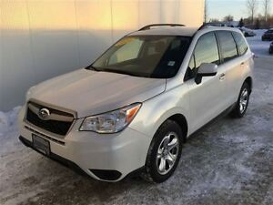 2014 Subaru Forester 2.5i with two sets of tires