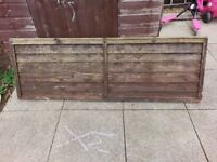 6ft x 2ft Fence Panel