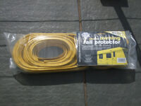 Blue Diamond Awning Rail Protector 2x 8m plus 2 x 3.4m approx size used but as new.