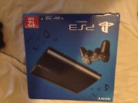 PS3 Super Slim 12GB over 12 games 4 controllers 4 PS move controllers PlayStaion move camera