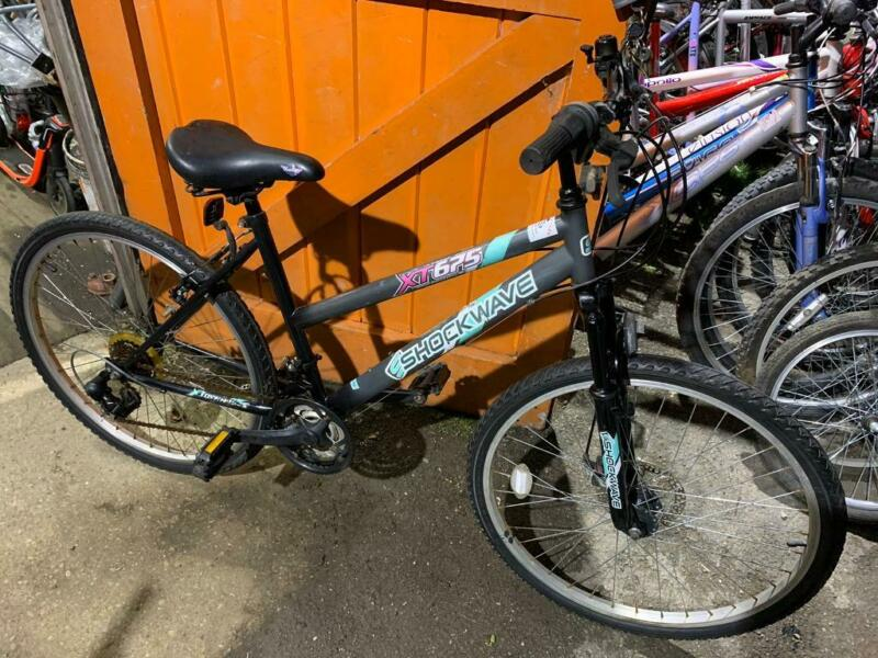 "ShockWave Ladies 17"" Frame Mountain Bike. Serviced, Free Lock, Lights, Delivery  for sale  Witney, Oxfordshire"