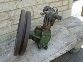 The David Stationary Air Compressor / Vacuum Pump Williams & James Gloucester Eng