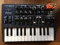 Arturia Microbrute with all accessories