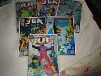 SIX DC COMICS JLA ISSUES 123456