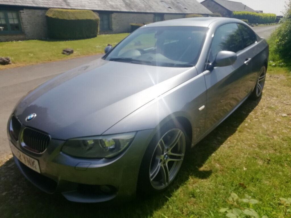 BMW 335d Coupe M-sport, '12, FSH, 69K,Sunroof, 19
