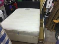 Double bed base & Matress