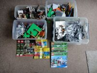 Lego sets Star wars, minecraft and various