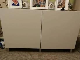 Besta range sideboard, drawers and desk
