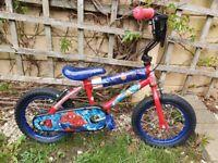 Kids spidermsn bike brand new