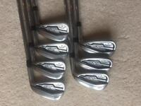 Callaway XR pro irons 4 to PW KBs stiff shafts recently regripped good condition