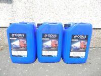 engine oil brand new sealed 10w - 30 motor car van lorry 20 litre