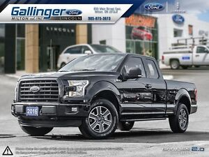 2016 Ford F-150 XLT SPORT w/NAVIGATION AND HEATED SEATS