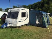 2008 Bailey Pageant Provence Series 7 with motor mover - 5 berth