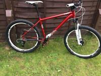 Lovely voodoo hoodoo mountain bike just spent £180 on parts