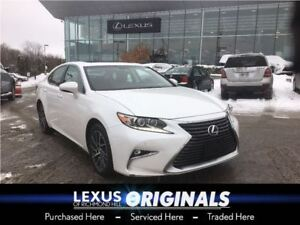 2016 Lexus ES 350 TOURING PKG/NAV/ROOF/ONE OWNER/LOW KMS!!