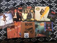 "Ac/dc vinyl - records - lot - albums and 2 7"" rock metal"