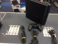 500gb ps4 consoles /playstation 4 with controller and cables