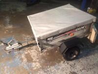 Erde 102 trailer, camping trailer. DIY trailer